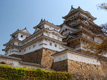 Château de Himeji au Japon Images stock