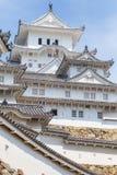 Château de Himeji, complexe japonais de château de sommet d'A Photographie stock libre de droits
