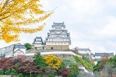 Château de Himeji en préfecture de Hyogo, Japon, patrimoine mondial de l'UNESCO Photo libre de droits