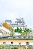 Château de Himeji en préfecture de Hyogo, Japon, patrimoine mondial de l'UNESCO Images libres de droits