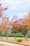 Château de Himeji en préfecture de Hyogo, Japon, patrimoine mondial de l'UNESCO Image stock