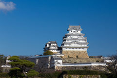 Château de Himeji, fond de site historique de Kansai Japon, Image stock