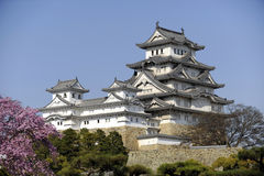 Château de Himeji, Japon photo stock