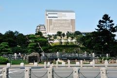 Château de Himeji sous la restitution Photos stock