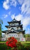 Château de Hirosaki dans Aomori, Japon image libre de droits