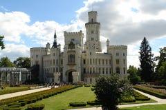 Château de Hluboka Image libre de droits