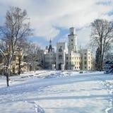 Château de Hluboka NAD Vltavou images libres de droits