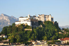 Château de Hohensalzburg Image libre de droits
