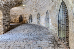 Château de Hohenzollern dans Baden-Wurttemberg, Allemagne photographie stock libre de droits