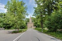 Château de Hohenzollern dans Baden-Wurttemberg, Allemagne photographie stock