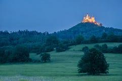 Château de Hohenzollern dans Baden-Wurttemberg, Allemagne images libres de droits