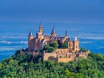 Château de Hohenzollern de Burg image libre de droits