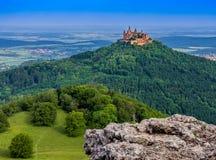 Château de Hohenzollern de Burg photos stock
