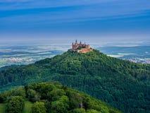 Château de Hohenzollern de Burg photo stock