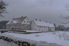 Château 2 de Hovdala Photos libres de droits