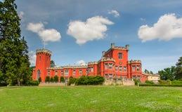 Château de Hradek u Nechanic, République Tchèque Photo libre de droits