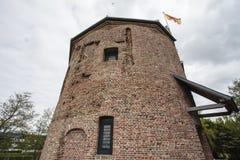 Château de Huys Dever dans Lisse, Noord Hollande, Pays-Bas Images stock