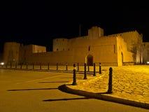 Château de Jabreen la nuit Photo libre de droits