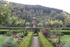 Château de jardin dans l'Eifel Images libres de droits