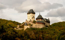 Château de Karlstejn Photographie stock libre de droits