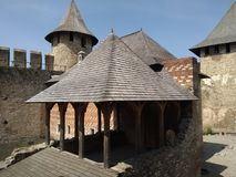 Château de Khotyn Photo libre de droits