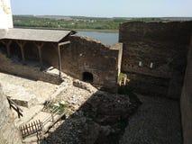 Château de Khotyn Photo stock