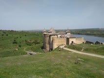 Château de Khotyn Image stock