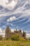 Château de Kilchurn en Ecosse Photo stock