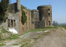 Château de Kilwaughter Photos stock