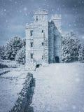 Château de Kirby Muxloe photographie stock libre de droits