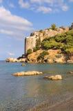 Château de Koroni à Messine, Grèce photos libres de droits