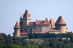 Château de Kreuzenstein de Burg dans Leobendorf, près de Vienne Autriche photo libre de droits