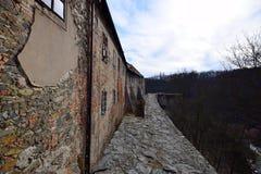 Château de Krivoklat, République Tchèque Photos stock