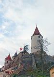 Château de Krivoklat (XII C ), République Tchèque images stock