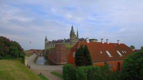 Château de Kronborg, Elseneur, Danmark banque de vidéos