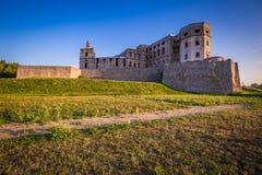 Château de Krzyztopor près d'Opatow, Pologne Photos stock