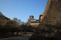 Château de Kumamoto au Japon Photographie stock