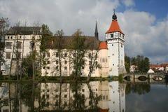 Château de l'eau de Blatna Photographie stock