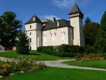 Château de l Echelle, sur Foron (France) de La Roche Image stock