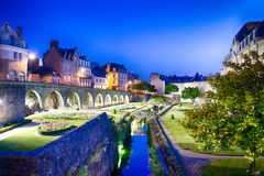 Château de l'Hermine in Vannes, France Stock Photo