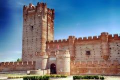 Château de La Mota un monument national et plus récemment comme site d'intérêt culturel images stock