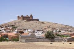 Château de la Renaissance en La Calahorra, Andalousie, Espagne Image libre de droits