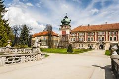 Château de Lancut la résidence du Pilecki, du Lubomirski et du Potoc images libres de droits