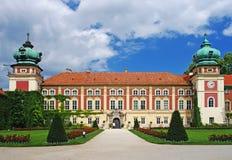 Château de Lancut, la Voïvodie des Basses-Carpates, Pologne Photographie stock