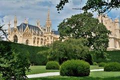 Château de Lednice Image libre de droits