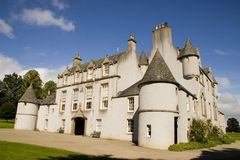 Château de Leith Hall, Ecosse Photos stock