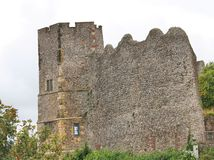 Château de Lewes Photographie stock libre de droits