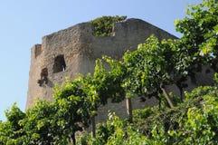 Château de Lichteneck Photos stock