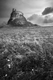 Château de Lindisfarne Image libre de droits