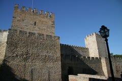 Château de Lisbonne photos libres de droits